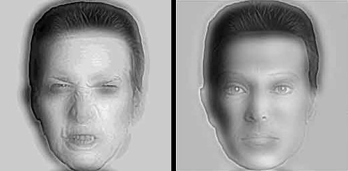 Ilusão de Óptica - Faces