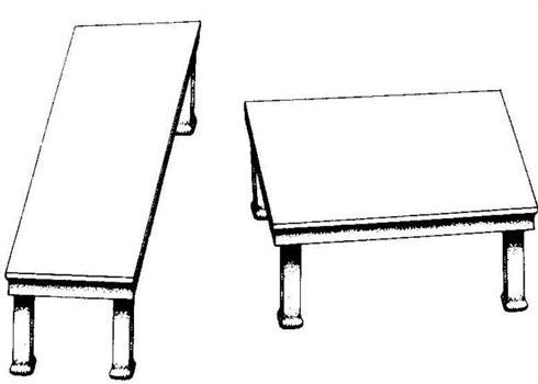 Ilusão de Óptica - Mesa